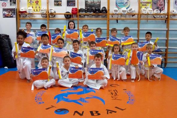 Examen de Taekwondo