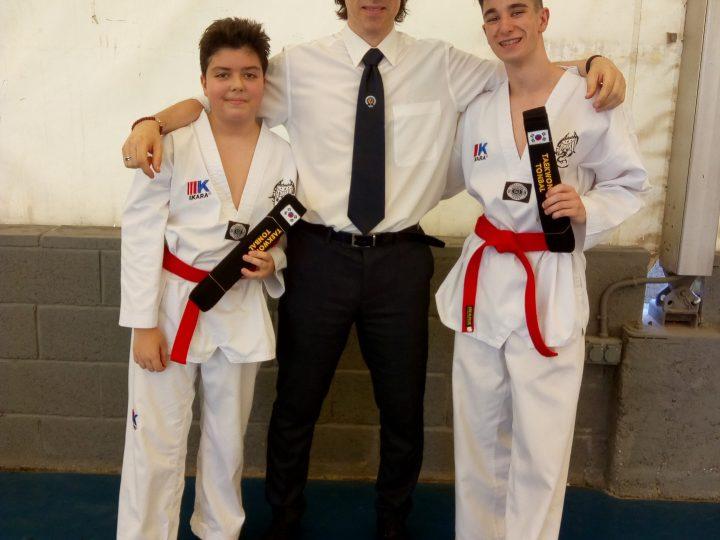 Examen Cinturón Negro de Taekwondo
